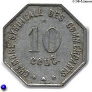 10 Centimes (Perpignan) – reverse