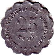 25 Centimes (Perpignan) – reverse