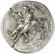 Drachm (Oloosson mint) – obverse