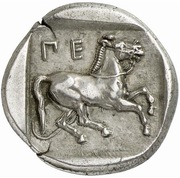 Drachm (Oloosson mint) -  reverse