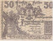 50 Heller (Persenbeug) -  obverse