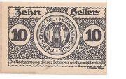 10 Heller (Persenbeug) -  obverse