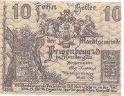10 Heller (Persenbeug) – obverse