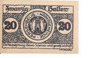 20 Heller (Persenbeug) -  obverse
