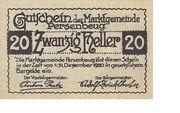 20 Heller (Persenbeug) -  reverse
