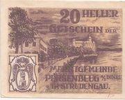 20 Heller (Persenbeug) – reverse