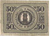 50 Heller (Persenbeug) – obverse