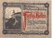 50 Heller (Persenbeug) -  reverse