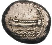 Double Shekel - Ba'alshallim II (Sidon) – obverse