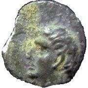 ½ Ma'ah-Obol - Hezekiah (Judea) – obverse