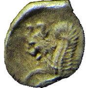 ½ Ma'ah-Obol - Hezekiah (Judea) – reverse