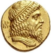 Stater - Andragoras (King of Parthia) – obverse
