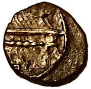 1/16 Shekel - Abdashtart I (Sidon) – obverse