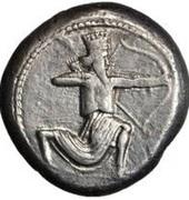 Stater - temp. Artaxerxes III / Darius III (Caria Satrapy) – obverse