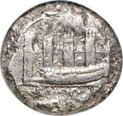 Double Shekel - Ba'alshallim I (THE PROVINVIAL COINAGE - SERIES I - Class 2) – obverse