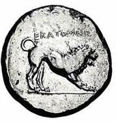 Tetradrachm - Hecatomnus (Caria satrapy) – reverse