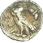 ½ Ma'ah-Obol (Judea) – reverse