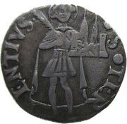 Terzo di Grosso - Constanzo I Sforza – reverse