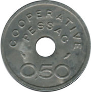 0.50 Franc (Pessac Emergency Coinage) – obverse