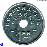 1 Franc (Pessac Emergency Coinage) – obverse