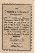 20 Heller (Pettenbach) -  obverse
