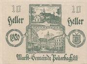 10 Heller (Peuerbach) -  obverse