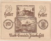 20 Heller (Peuerbach) -  obverse