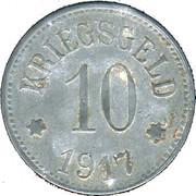 10 Pfennig - Pfaffenhofen am Ilm – reverse