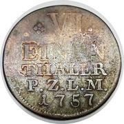 ⅙ Thaler - Christian IV. – reverse