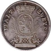 5 Kreuzer - Christian IV – obverse