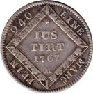 5 Kreuzer - Christian IV – reverse
