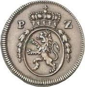 ½ Kreuzer - Karl II. August – obverse