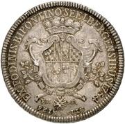 1 Thaler - Christian IV. (Ausbeutetaler) – reverse