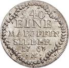 5 Kreuzer - Christian IV. – reverse