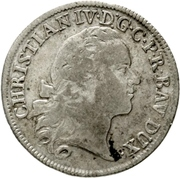 20 Kreuzer - Christian IV. – obverse