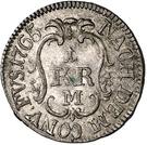 1 Kreuzer - Christian IV. – reverse