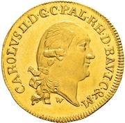 1 Ducat - Karl II. August – obverse
