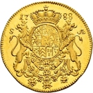 1 Ducat - Karl II. August – reverse