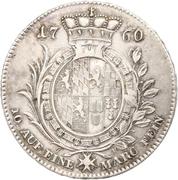 1 Thaler - Christian IV – reverse