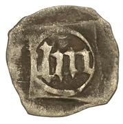 1 Pfennig - Ludwig III., Johann von Neumarkt and, Otto I. (Schwarzpfennig) -  reverse