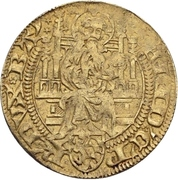 1 Goldgulden - Friedrich I. der Siegreiche – obverse