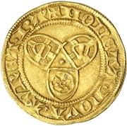 1 Goldgulden - Friedrich I. – reverse