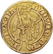 1 Goldgulden - Ludwig III (Bacharach) – obverse