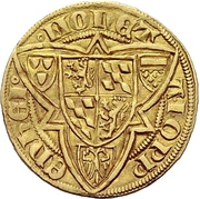 1 Goldgulden - Ruprecht II. (Oppenheim) – reverse