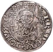 1 Weißpfennig - Friedrich I. der Siegreiche (Bacharach) – obverse