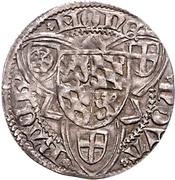 1 Weißpfennig - Friedrich I. der Siegreiche (Bacharach) – reverse