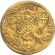 1 Goldgulden - Friedrich III – reverse