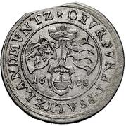 ¼ Gulden - Friedrich IV – reverse