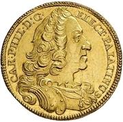 1 Ducat - Karl Philipp (Rheingolddukat) – obverse