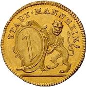 1 Ducat - Karl Theodor (Reign) – obverse